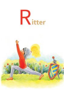 YOGA-ALPHABET Karten - Ritter