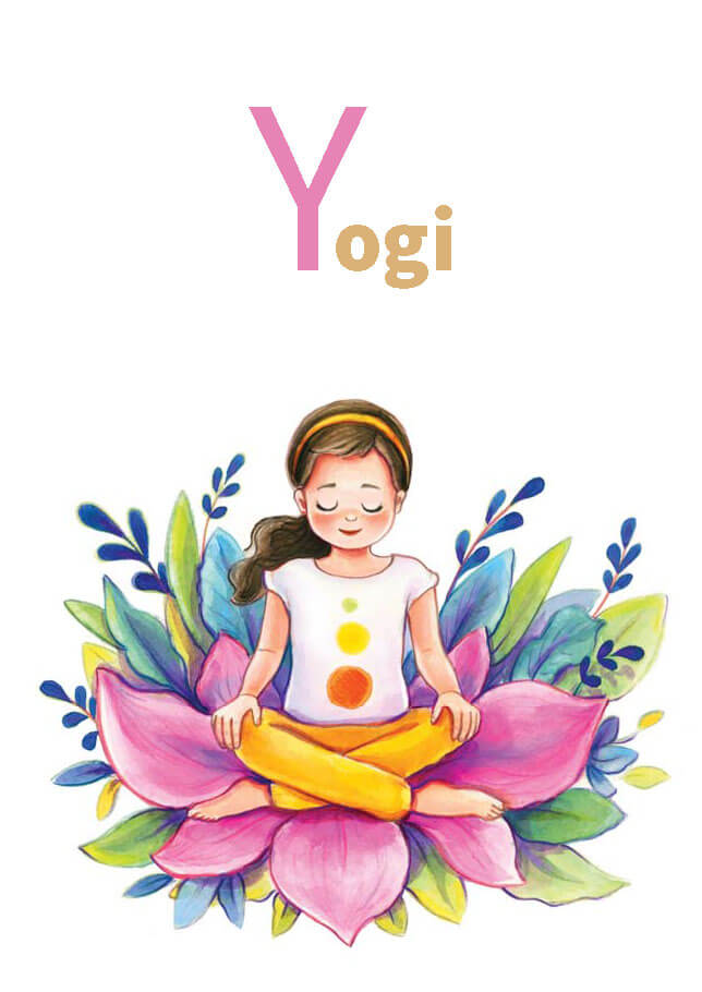 YOGA-ALPHABET Karten - Yogi
